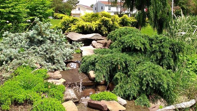 Waterfall Bergen Water Gardens