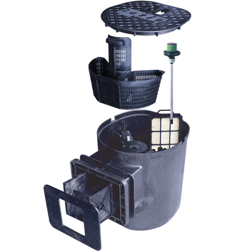 Savio compact pond skimmer end of season special for Pond filter basket