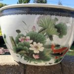 Chinese Bowl Lotus Pot