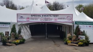 Special Events Tent Lilac Festiva