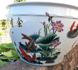 Chinese Lotus Pot