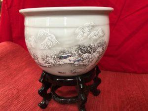 Winter Micro Lotus Pot 1